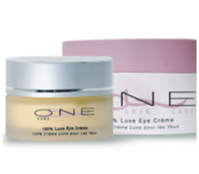 One Pure Luxe Eye Cream