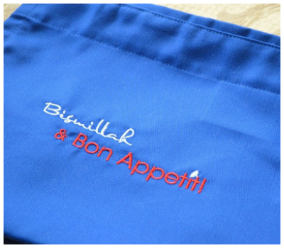 My Halal Kitchen Bismillah Apron