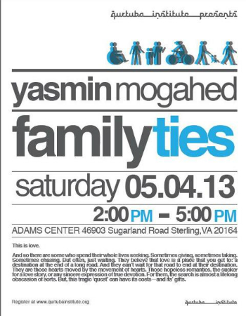 Yasmin Mogahed Family Ties Event