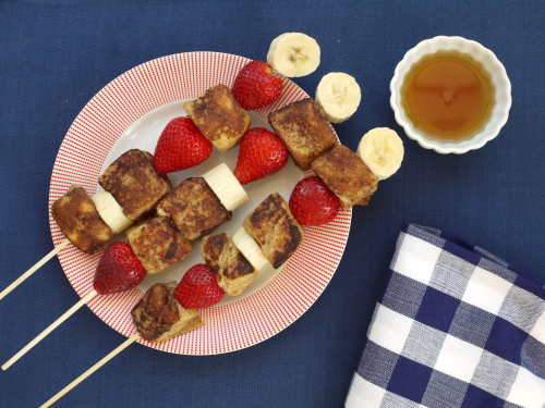 Weelicious French Toast on a Stick