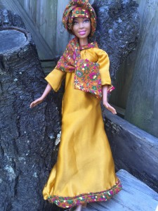 modest Islamic doll clothing