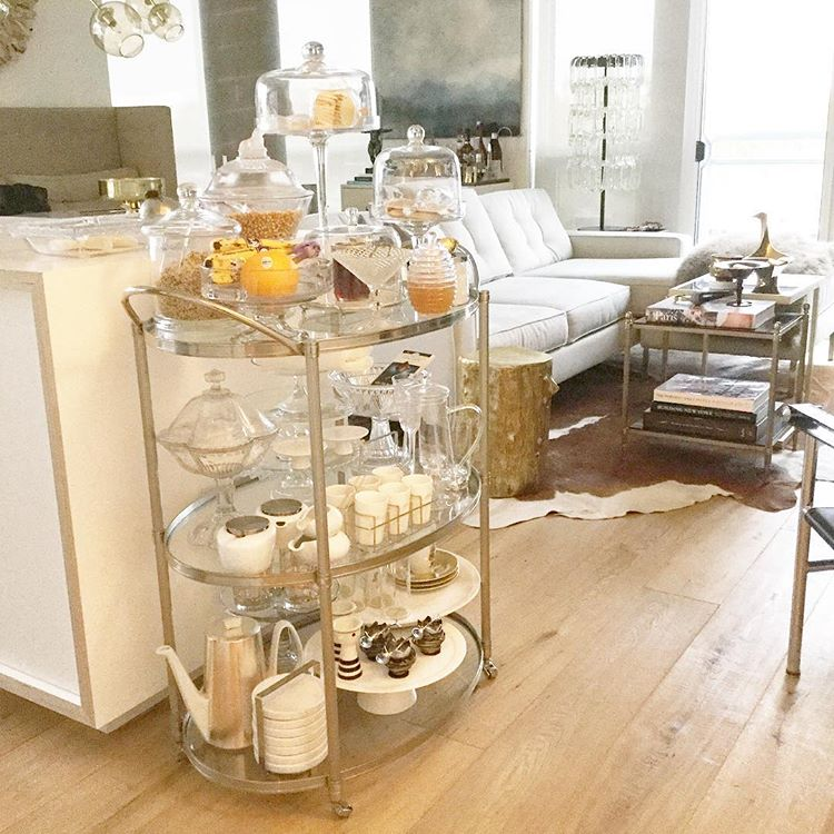 Breakfast Bar Cart