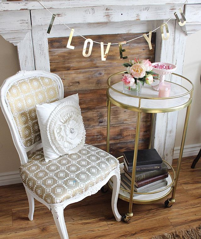Side Table Bar Cart