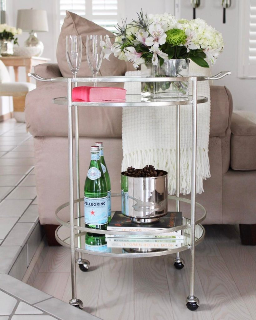Drink bar cart