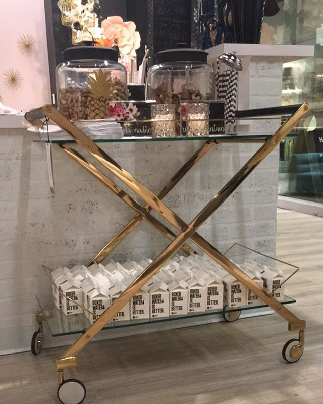 Cereal Bar Cart Buffet